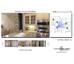 Click for a model home Virtual Tour with RADAR Hotspots